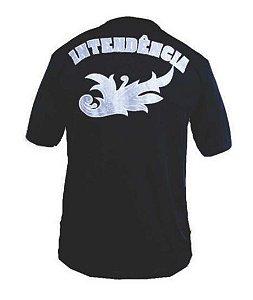 Camiseta Estampada Intendência (Preta)