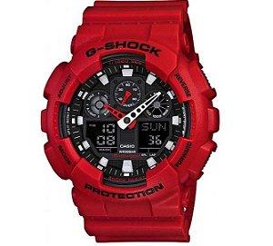 Relógio Cásio G-SHOCK GA-100B-4ADR