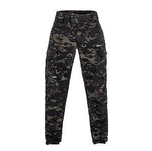 Calça Combat Camuflado Multicam Black (Invictus)