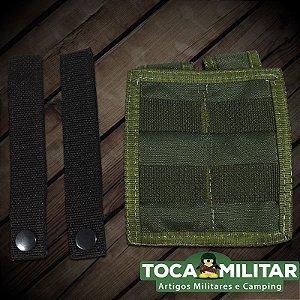 Porta Carregador de Pistola Duplo Linha Molle (Modular)