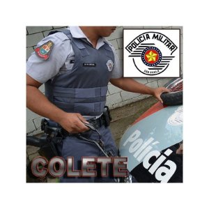 Capa para Colete Polícia Militar SP
