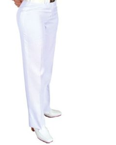 Calça Branca feminina (Saúde EB)