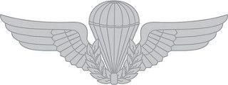 Brevê (Distintivo) de Metal Paraquedista