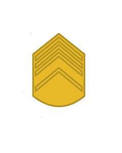 Divisa de Metal de 2° Sargento (Unidade)