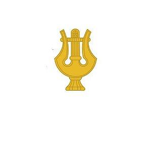 Distintivo de Metal Musico (Unidade)