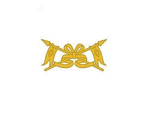 Distintivo de Metal Cavalaria (Unidade)