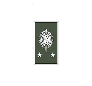 Divisa de Gola General de Brigada (Emborrachado)
