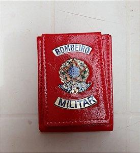 Carteira Bombeiro Militar (Vermelha)