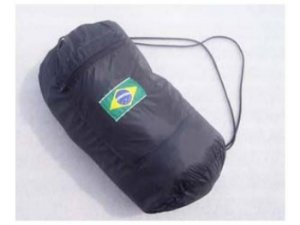 Saco cairê Preto (Bordado Bandeira)
