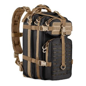Mochila Assault LC INVICTUS (Preto-Coyote)