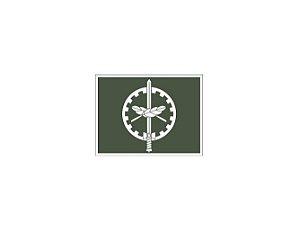 Distintivo de Oficial QAO (Emborrachado)