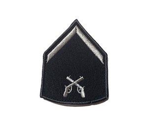 Divisas Bordada Azul- Polícia Militar (Par)