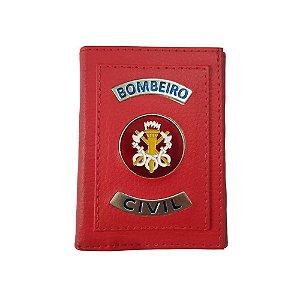 Carteira Bombeiro Civil (Vermelha)
