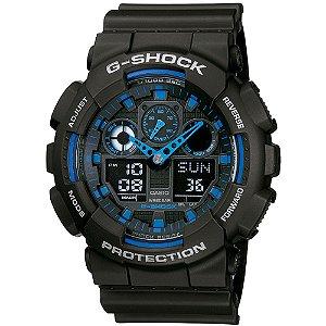 Relógio Cásio G-SHOCK GA-100-1A2DR