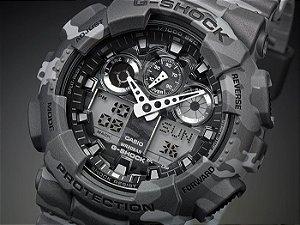 Relógio Cásio G-SHOCK GA-100CM-8ADR