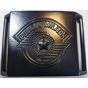 Fivela de Cinturão Policia Militar - Metal