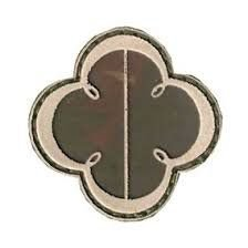 Quaderna de Sargento Temporário - Trevo (Emborrachado)