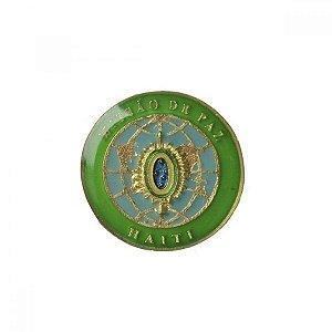 Brevê (Distintivo) de Metal Haiti