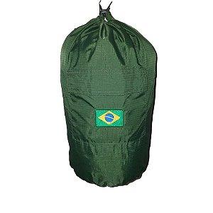 Saco Cairê Verde (Bordado Bandeira)