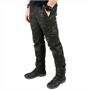 Calça Masculina Bélica Multiforce (Multicam Black)