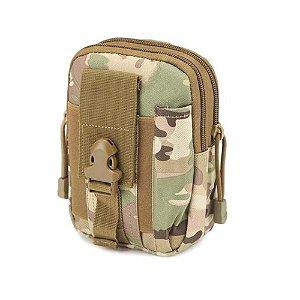 Porta Acessórios D30- Waist Bag- Molle (Multicam)
