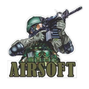 Adesivo Airsoft