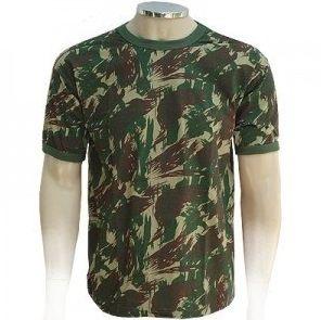 Camiseta camuflada poliviscose