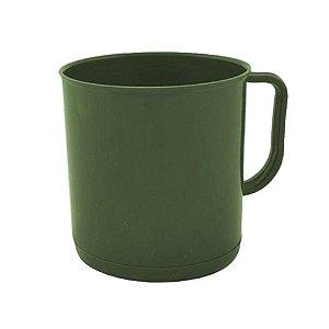 Caneca Verde Oliva (Polímero)