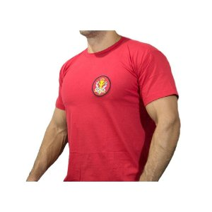 Camiseta Bombeiro Civil (Vermelha)