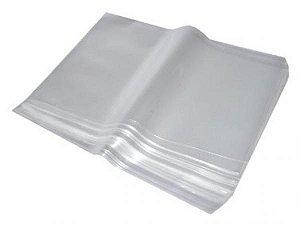 Saco Plástico Grande de Gelo Grosso (Transparente)