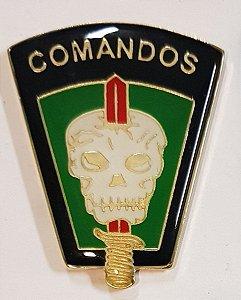 Brevê (Distintivo) de Metal Boton Comandos