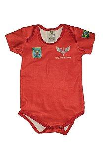 Body Bebê Bombeiro Força Aérea Brasileira