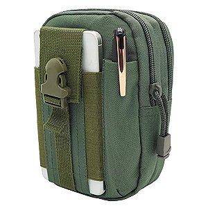 Porta Acessórios D30 - Waist Bag Molle (Verde)
