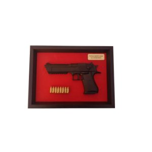 Quadro Moldura Decorativa (Desert Eagle)