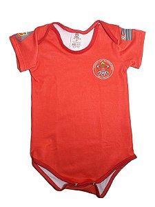 Body Bebê Bombeiro Militar (PMSP)