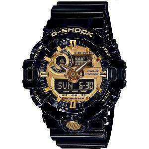 Relógio Cásio G-SHOCK GA-710GB-1ADR