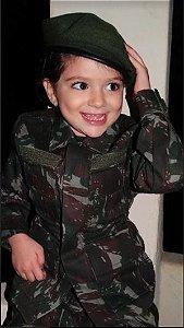 Farda Camuflada Exército Brasileiro (Infantil)