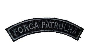 Manicaca/ Listel - Força Patrulha PM (Bordado)