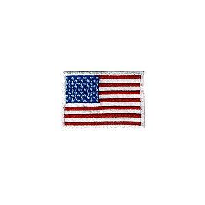 Bordado Termocolante Bandeira EUA (Estados Unidos)