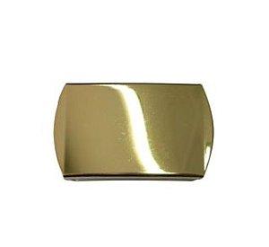 Fivela de Cinto Banhada a Ouro