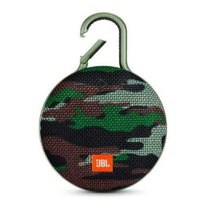 Caixa de Som Portátil Bluetooth JBL Clip 3 Squad