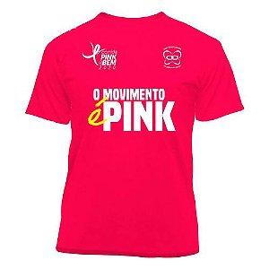 Camiseta Corrida Somos Pink do Bem 2020