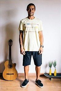 Camiseta Rowing Amarelo Claro