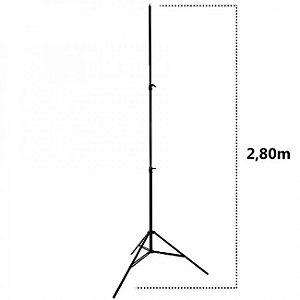 Tripé de iluminação TanGee 280 - 2,80m de Altura (Amortecimento por ar)