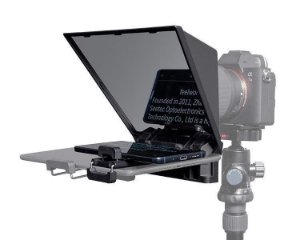 Teleprompter Portátil TP2 FeelWorld P/ Smartphone e Câmeras C/ Controle Remoto