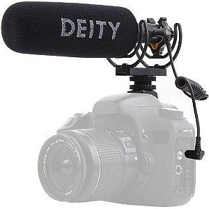Deity V-Mic D3 Pro Camera-Mount Shotgun Microphone Direcional C/ Bateria