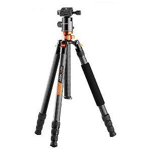 Tripé K&F Concept SA284C1 DSLR Camera Tripod/Monopod Kit with Ball Head   09095