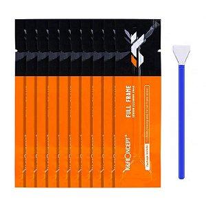 Kit 5x Haste Cotonete Pincel Limpeza Sensor Full-Frame 24mm K&F CK03