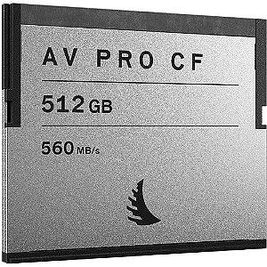 Cartão de memória Angelbird AV PRO CF 512GB