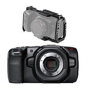 Câmera Blackmagic Design Pocket Cinema 4K + Cage Smallrig 2203b